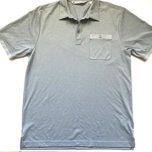 Travis Mathew Men's Polo Slate Blue